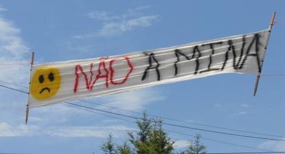 Foto de Joaquim Guimarães na página de Facebook do Movimento Contra a Exploração de Recursos Minerais no concelho de Montalegre. Julho de 2019.