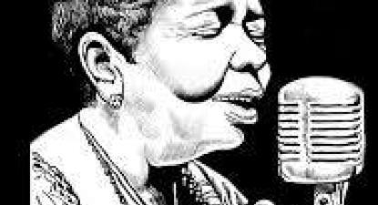 Cesária Évora. Ilustração de Felizardo em http://felizardocartoon.blogspot.com/
