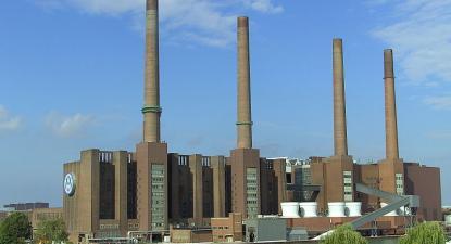 Economia alemã teve queda histórica no segundo trimestre – Foto da Volkswagen Wolfsburg, wikimedia