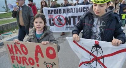 Protesto de populações locais - Foto de Município de Leiria/Facebook