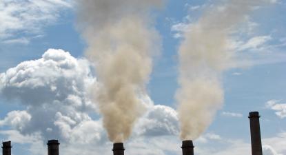 Poluição. Foto de Lundrim Aliu/World Bank/Flickr.