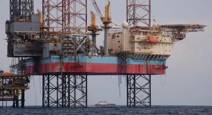 Plataforma petrolífera offshore