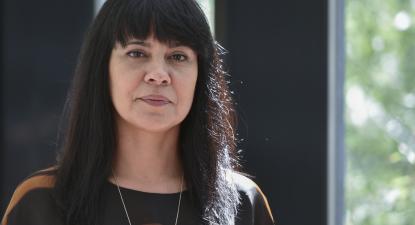 """O Estado tinha de ser o primeiro a dar o exemplo"", afirma Sandra Cunha."