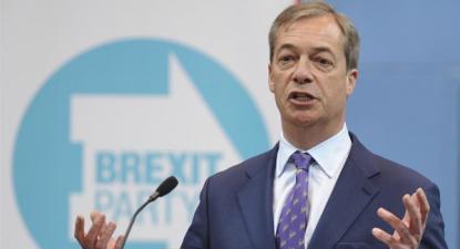 Sondagens para as europeias no Reino Unido colocam à frente o Brexit Party, liderado por Nigel Farage, e indicam um colapso do voto conservador