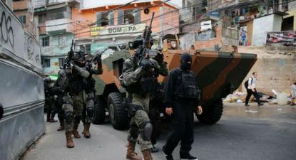 Um dos maiores absurdos dessa intervenção militar no Rio de Janeiro é a ciência da ineficácia da medida