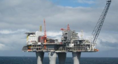 Plataforma de exploração petrolífera - Noruega