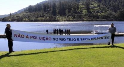 Movimento proTejo convoca nova manifestação para protestar contra a poluição do Tejo para 4 de março de 2017 em Vila Velha de Rodão