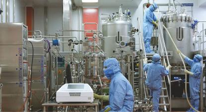 Produção de vacinas
