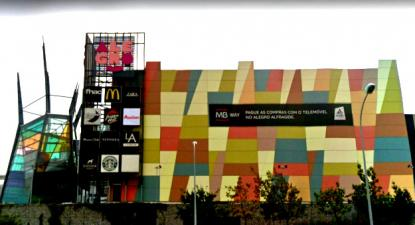 Centro Comercial Alegro em Alfragide. Foto CGTP.