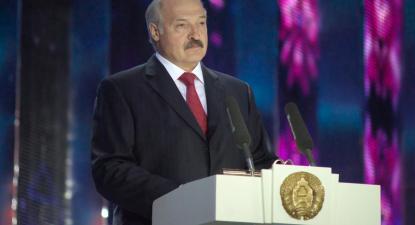 O presidente da Bielorrússia, Alexander Lukashenko. Foto de Serge Serebro/wikimedia commons.