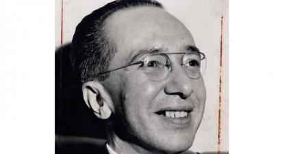 Álvaro Lins em 1964.