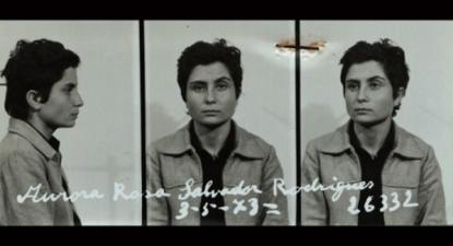 Aurora Rodrigues, presa a 1 de maio de 1973.
