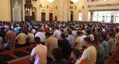 Beirute, Mesquita Mohammed El Amin, 6 de setembro de 2013 – Foto de José Manuel Rosendo, publicada em meuMundominhaAldeia.blogspot.com