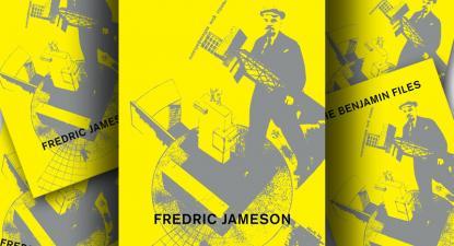 "Capa do livro ""The Benjamin Files"" de Frederic Jameson, Verso Books, 2020."