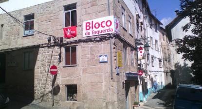 Sede do Bloco de Esquerda na Covilhã.