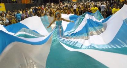 Bloco da Capoeira no circuito Campo Grande, Salvador - Foto wikipedia