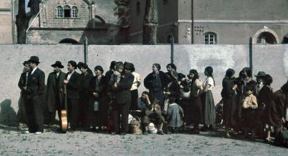 Asperg, deportação de Roms e Sinti. Maio de 1940.