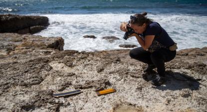 Investigadores admitem que é possível encontrar ovos de dinossauro no Cabo Espichel – Foto José Sena Goulão/Lusa