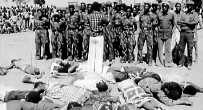 Massacre de Mueda. Foto publicada na página de internet do Governo da Província de Tete.