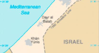 O raide israelita atingiu Jafawari, no centro da Faixa de Gaza.
