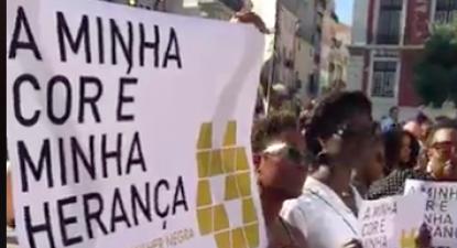 Este sábado, houve manifestações contra o racismo em Lisboa, Braga e Porto.
