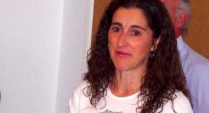 Cristina Tavares, trabalhadora corticeira vítima de perseguição patronal. Foto CGTP-IN