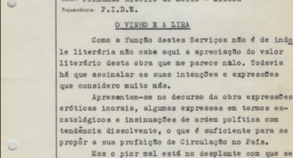 Arquivo da PIDE na Torre do Tombo. Fotografia de Ana Bárbara Pedrosa.