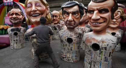 Carnaval francês, foto de Sebastien Nogier, EPA/Lusa