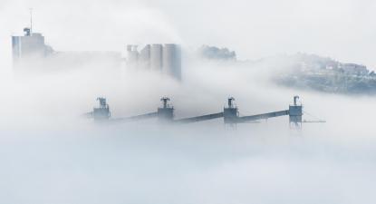 Poluição atmosférica. Lisboa.