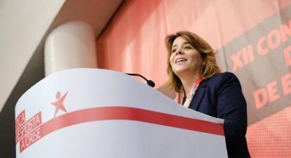 Catarina Martins no encerramento da XII Convenção do Bloco