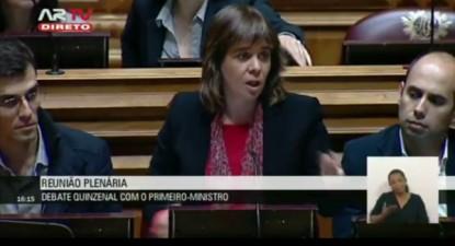 Catarina Martins condenou as declarações do presidente do Eurogrupo e denunciou a política de humilhação da UE
