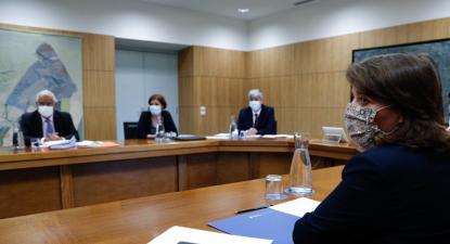 Reunião entre Governo e Bloco