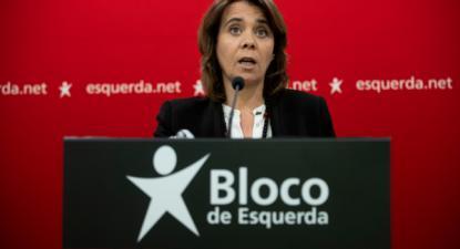 Catarina Martins apresentou as conclusões da reunião de Mesa Naciona do Bloco de Esquerda, 4 de janeiro de 2020 - Foto de José Sena Goulão/Lusa
