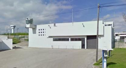 Estabelecimento Prisional de Caxias. Estabelecimento Prisional de Caxias. Imagem Google Street View.