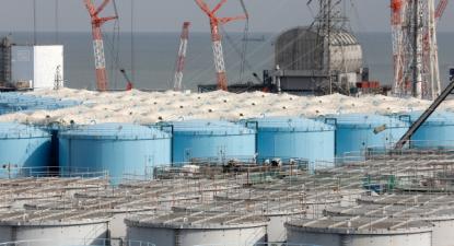 Central nuclear de Fukushima, 22 de janeiro de 2020 – Governo japonês decidiu lançar no mar mais de um milhão de toneladas de água contaminada – Foto Kimimasa Mayama / Epa /Lusa
