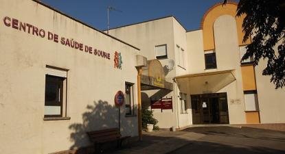 Centro de saúde em Soure, distrito de Coimbra. 2015.