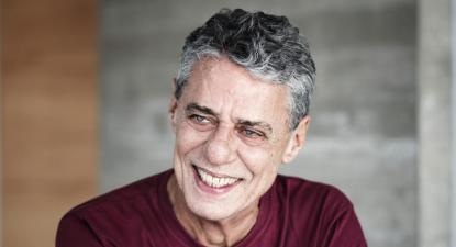 Chico Buarque - Foto Biblioteca Nacional – Brasil