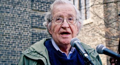Noam Chomsky - Foto de Andrew Rusk/flickr