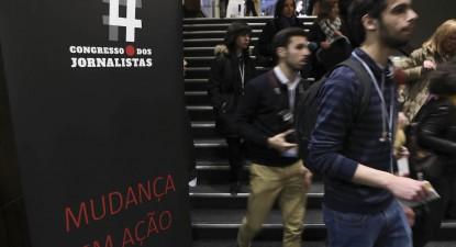 4º Congresso dos Jornalistas, por Miguel A. Lopes - Lusa