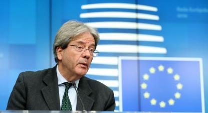 Comissário europeu Paolo Gentiloni. Foto: European Union