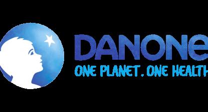 Logo da Danone, via danone.com