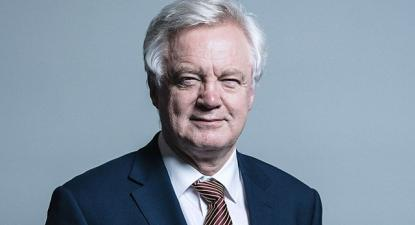 David Davis, ministro do Brexit, demitiu-se