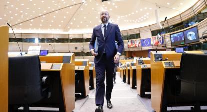 Charles Michel, presidente do Conselho Europeu. Foto: European Union