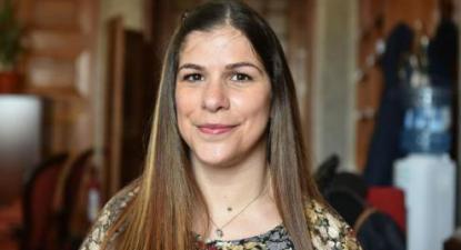 Diana Santos, deputada do Bloco de Esquerda