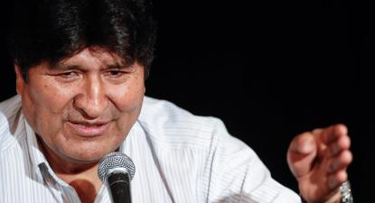 Em conferência de imprensa a 17 de dezembro em Buenos Aires, Evo Morales declara que não teme as acusações.
