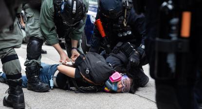 Após deter 180 manifestantes, polícia de Hong Kong elogia lei da segurança nacional chinesa