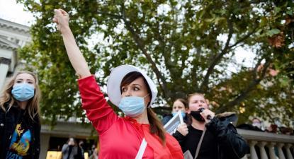 Apesar dos confrontos com a polícia em algumas cidades, tendo esta reprimido as manifestantes com gás pimenta, as manifestações deverão continuar ao longo do fim de semana.