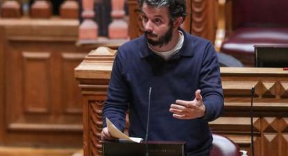 Moisés Ferreira. Foto Tiago Petinga/Lusa (arquivo)