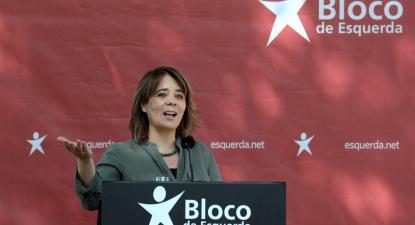 Catarina Martins. Foto de Estela Silva/Lusa.
