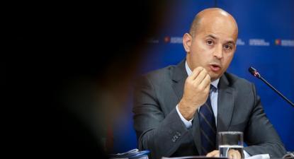 João Leão, Ministro das Finanças português. Foto: Nuno Fox/Lusa